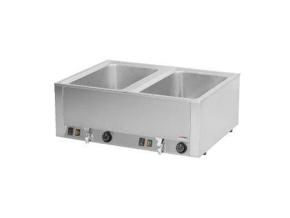 Vodní lázeň s výpustí REDFOX 2x GN 1/1 BMV-2120